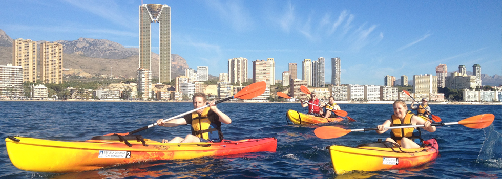 Sea Kayak Excursion with Marco Polo Expediciones in Benidorm