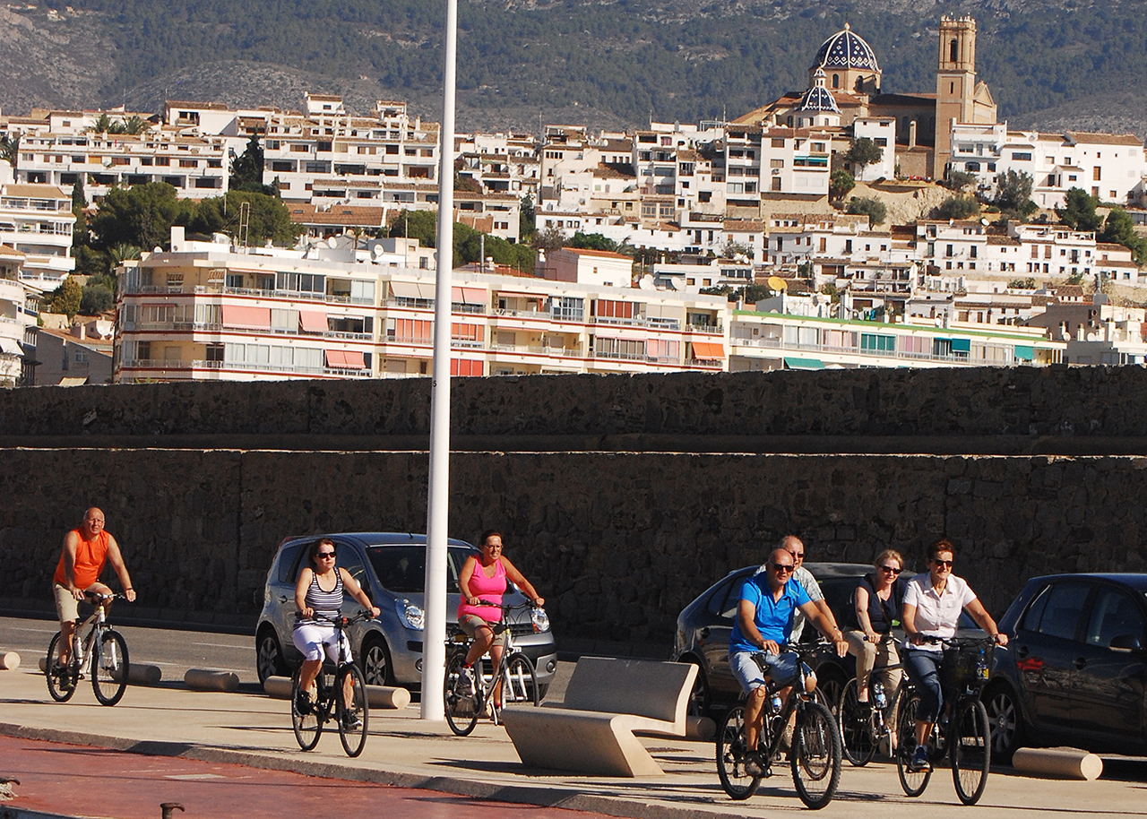 Bicycle Tour Altea Costa Blanca