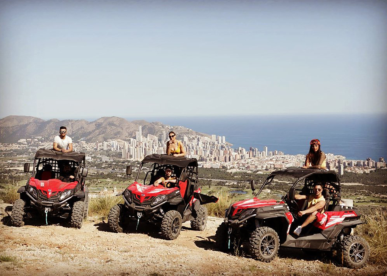 Buggy Safari Benidorm Costa Blanca