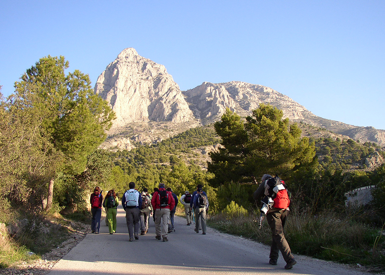 Nordic Walking Benidorm Costa Blanca